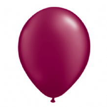 "Qualatex 11 inch Balloons - Pearl Burgundy 11"" Balloons (Radiant 100pcs)"